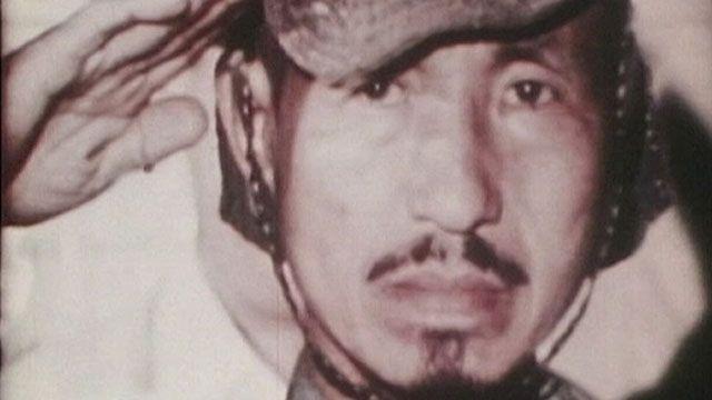Quando foi encontrado nas Filipinas, já na década de 1970, Onoda ainda usava o uniforme militar | Foto: BBC