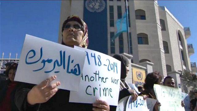 حملات شعبية فلسطينية لفك الحصار على مخيم اليرموك بسوريا
