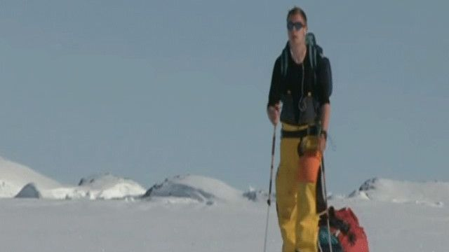 لويس كلارك في القطب الجنوبي