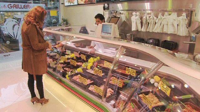 محل لبيع الحم الحلال
