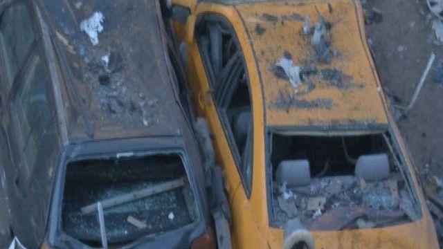 الانفجار حدث قرب موقف للسيارات في بغداد