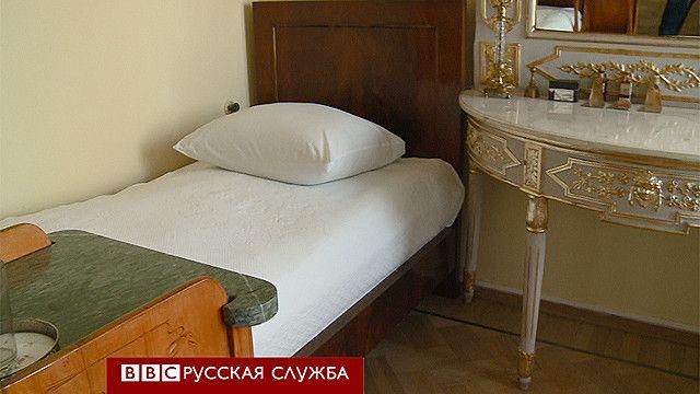 Кровать, на которой умер Ленин