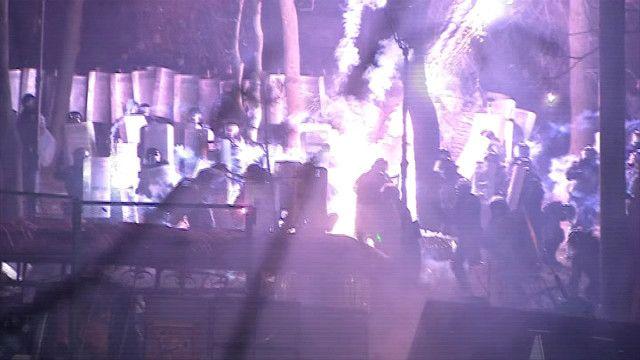 Євромайдан, Грушевського, відео, Київ, протести, сутички