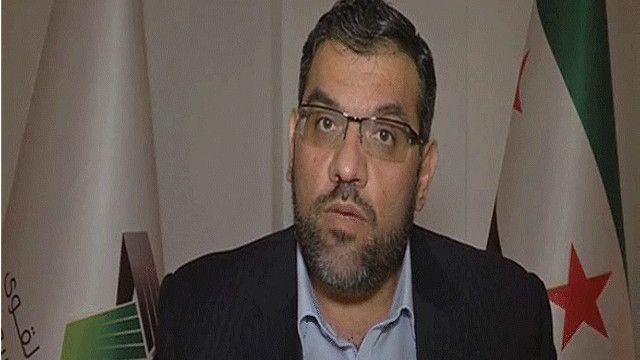 أنس عبدة المتحدث باسم المجلس الوطني السوري