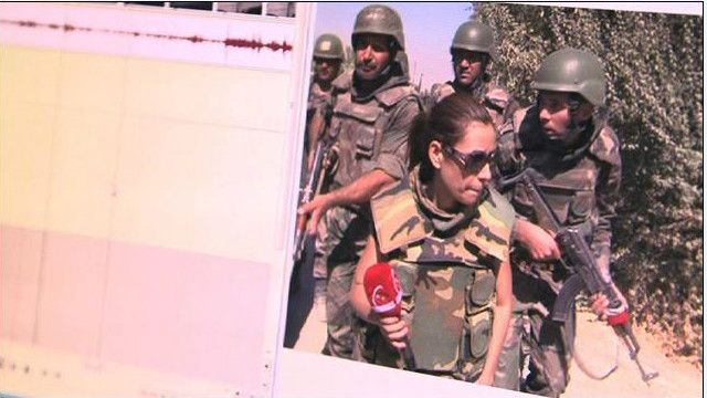 يارا ذهبت في جولة ميدانية مع الجيش