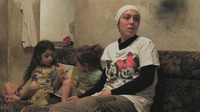 Ghada and her children