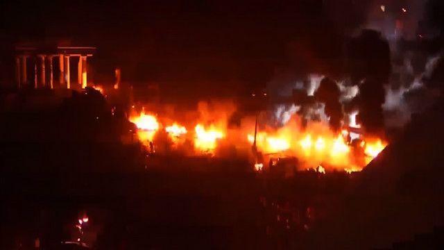 Киев, баррикады, Грушевского, стрельба