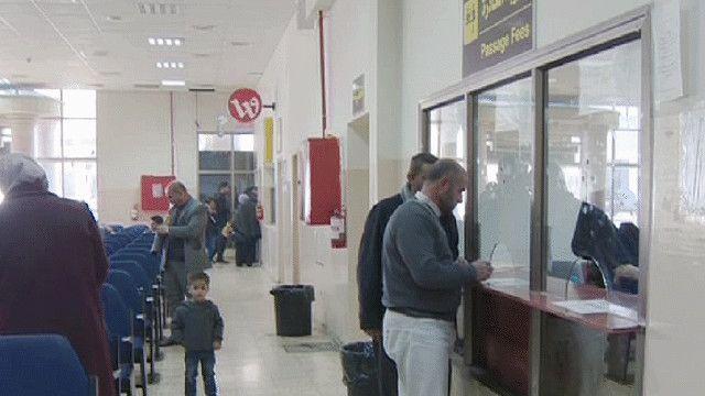 الحدود الفلسطينية الأردنية معبر الكرامة