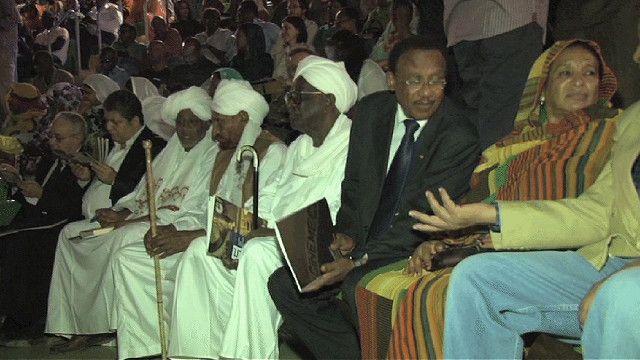 جانب من الحضور في مهرجان السودان للسينما المستقلة