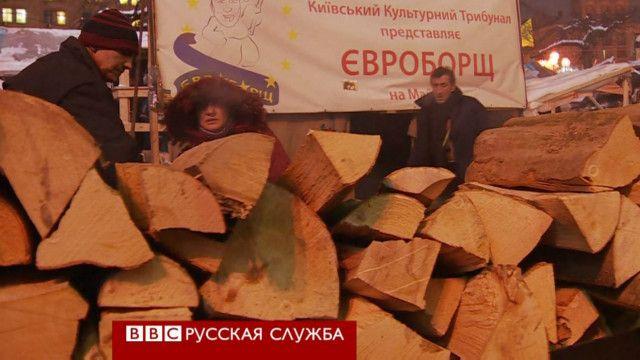 """""""Евроборщ"""" в Киеве"""