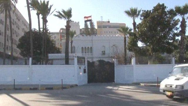 السفارة المصرية في ليبيا
