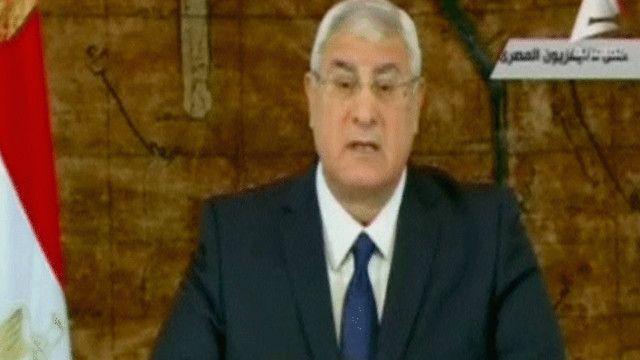 عدلي منصور الرئيس المصري المؤقت