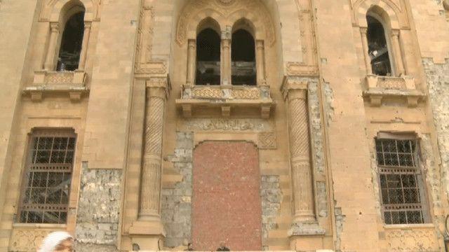 مدخل المتحف الإسلامي في مصر