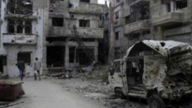 敘利亞和談達成霍姆斯暫時解圍協議