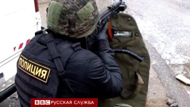 Полицейский в Сочи