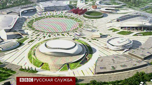 Олимпийская деревня Сочи-2014