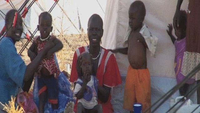 لاجئة من جنوب السودان
