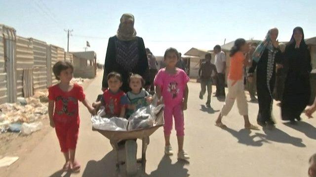 اللاجؤون السوريون في الأردن