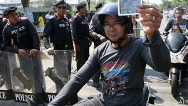 Таиланд проголосовал на фоне массовых протестов