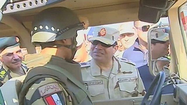 埃及軍方否認最高統帥塞西參選總統報道