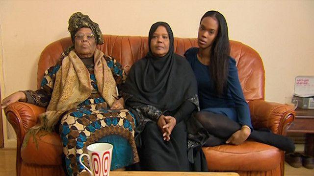 ثلاث نساء صوماليات