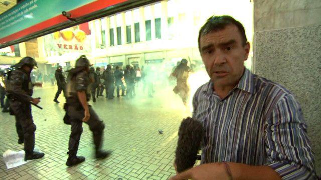 Wyre Davies, periodista de la BBC en Río de Janeiro