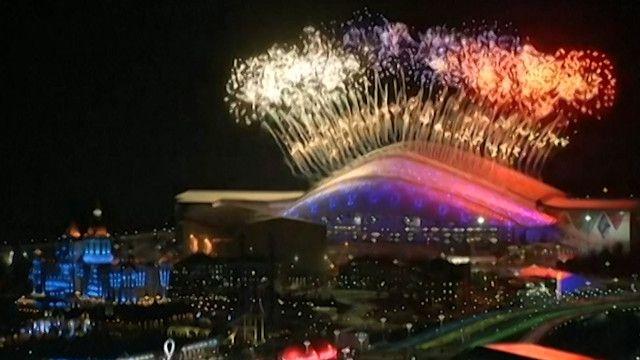 افتتاح أولمبياد سوتشي