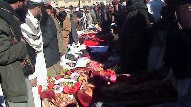 ضحايا العنف في افغانستان