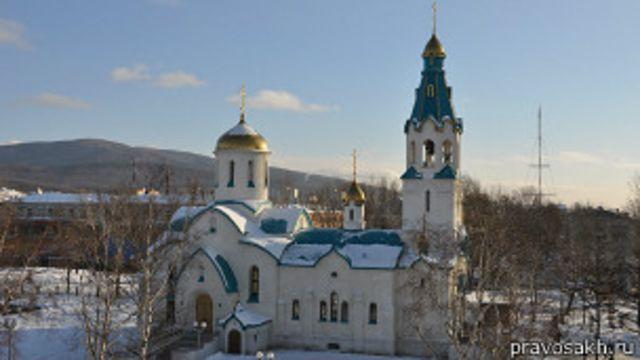 Сахалин: на службе в храме убиты монахиня и прихожанин