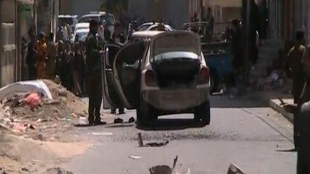 العبوة استهدفت ضابطا بالمخابرات اليمنية
