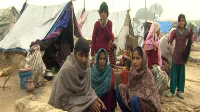 India Refugee Camps