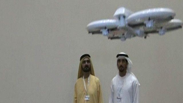 طائرة درون لتوزيع البريد الحكومي بالإمارات