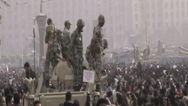 صورة من الأرشيف: مظاهرات ميدان التحرير في ثورة يناير
