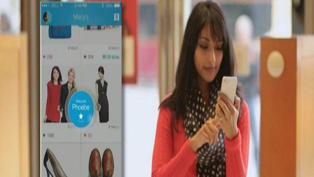 الهواتف الذكية في خدمة المحلات التجارية