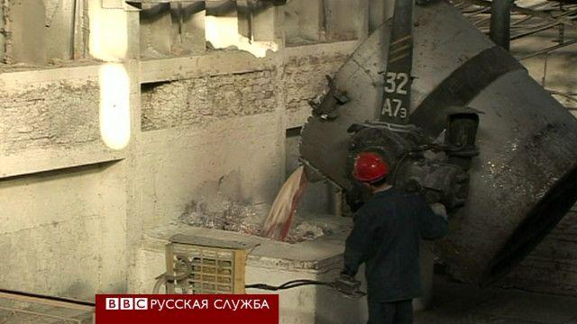 Литейное производство таджикского алюминиевого завода