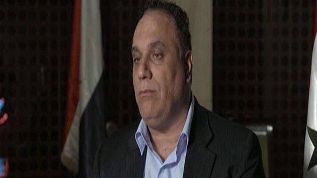 طلال البرازي محافظ حمص