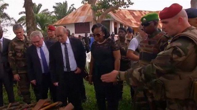 رئيسة جمهورية افريقيا الوسطى سامبا - بانزا