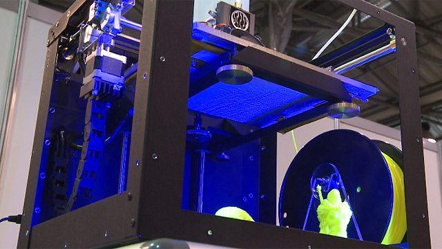 3D-принтер на выставке в Москве