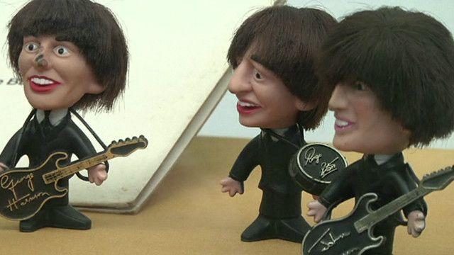Miniaturas dos Beatles. Foto: BBC