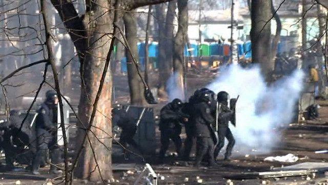 Масові зіткнення в Києві