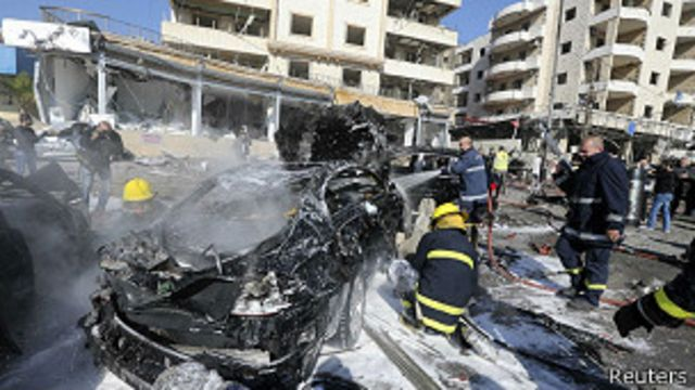 Líbano: cuatro muertos en explosiones en el sur de Beirut