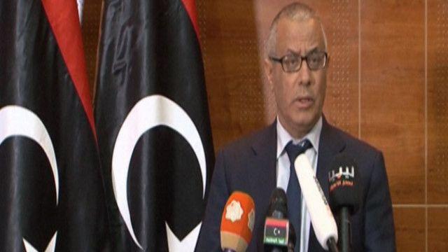 علي زيدان  رئيس الحكومة الليبية المؤقتة