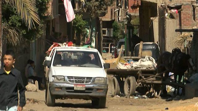 احد العشوائيات في مصر