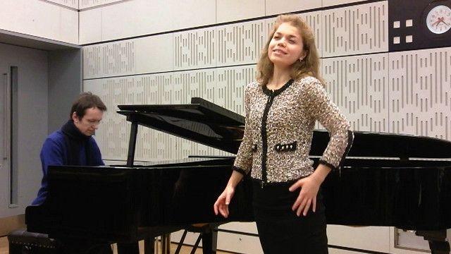 Nghệ sỹ piano Igor Gryshyn và ca sỹ giọng soprano Olena Tokar