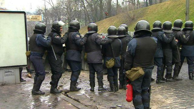 Внутренние войска в Киеве