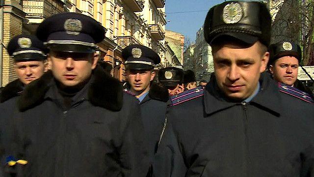 Милиция на Майдане