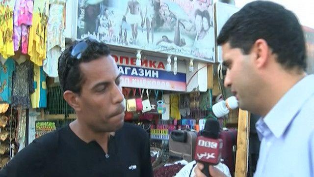مواطن مصري يعمل في السياحة في شرم الشيخ