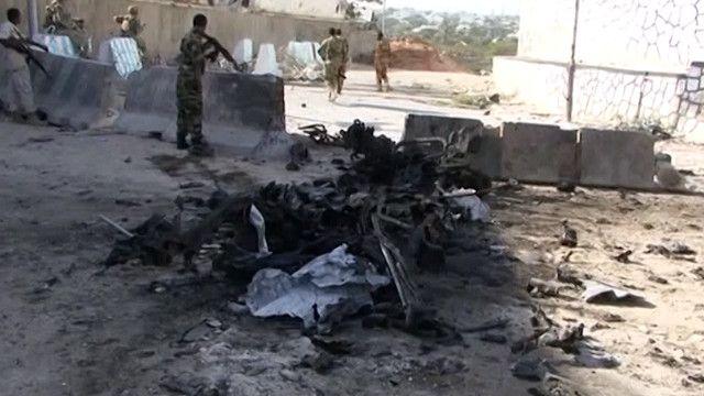 هجوم على القصر الرئاسي في الصومال