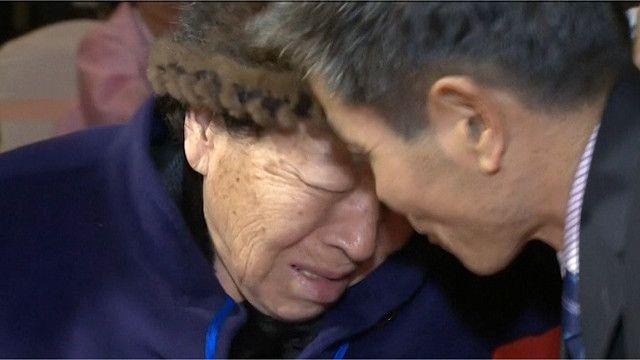 أسر من الكوريتين تلتقي بعد ستة عقود من الفراق