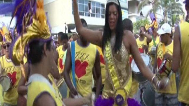 المهرجان البرازيلي الراقص